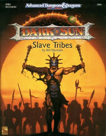 Add 2e Dark Sun Slave Tribes Sc 2404 Rpg Roleplaying Dungeons