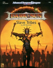 AD&D 2E Dark Sun Slave Tribes SC 2404