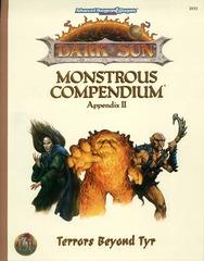 Dark Sun Monstrous Compendium Appendix II: Terrors Beyond Tyr