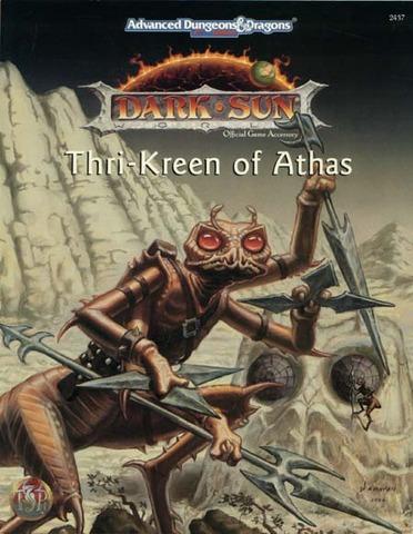 AD&D 2E Dark Sun Thri-Kreen of Athas SC 2437
