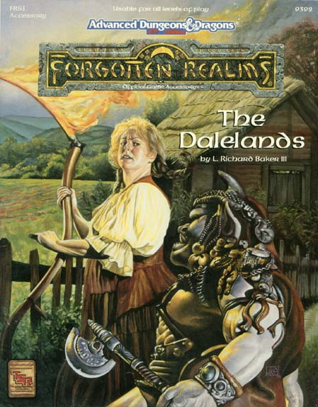 AD&D(2e) FRS1 - The Dalelands 9392