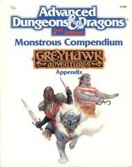 AD&D(2e) MC5 - Monstrous Compendium Greyhawk Appendix 2107