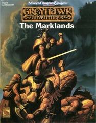 AD&D 2E Greyhawk Adventures: The Marklands 9398 WGR3