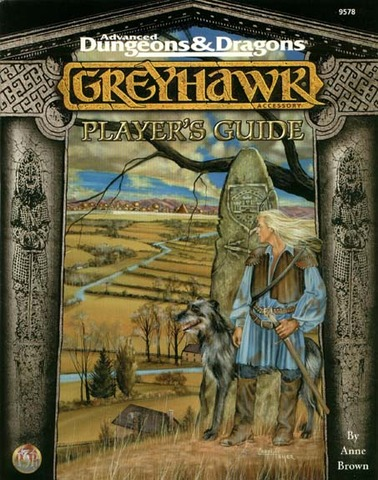 AD&D Greyhawk Player's Guide 9578 SC