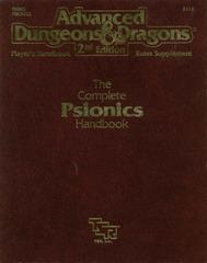 Complete Psionics Handbook (AD&D 2d ed, 1991)