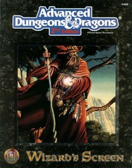 AD&D 2E - Wizard's Screen 9468