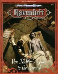 Ravenloft - Van Richten's Guide to the Created 9417