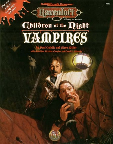 Ravenloft - Children of the Night Vampires 9513