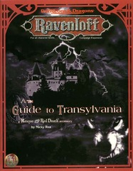 A Guide to Transylvania: A Masque of the Red Death Accessory