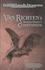 AD&D(2e) - Van Richten's Monster Hunter's Compendium Volume One 11447