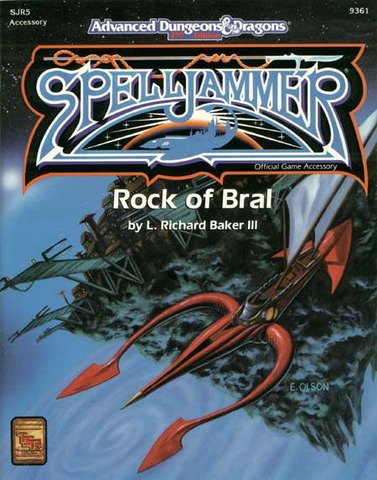 AD&D(2e) Spelljammer - Rock of Bral 9361