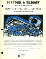Monster & Treasure Assortment, Sets One to Three: Levels One-Nine
