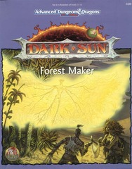 AD&D 2E Dark Sun Forest Maker Box 2430