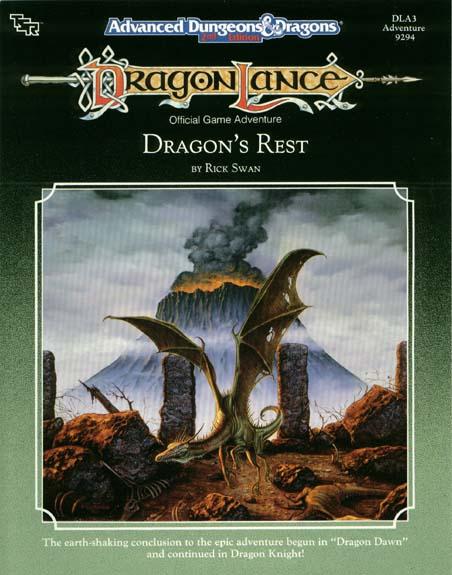 AD&D(2e) DLA3 - Dragons Rest 9294