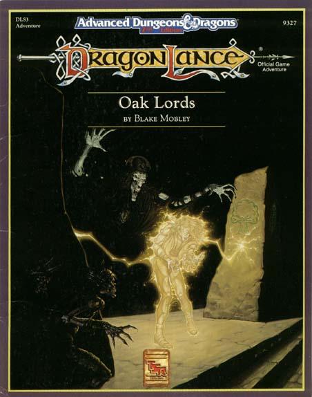 AD&D(2e) DLS3 - Oak Lords 9327
