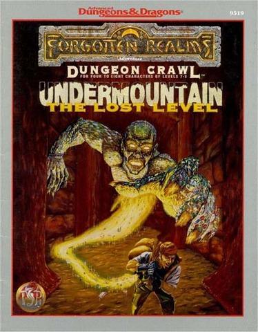 AD&D(2e) - Undermountain The Lost Level 9519