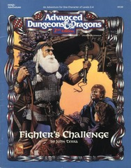 AD&D(2E) HHQ1 - Fighter's Challenge 9330