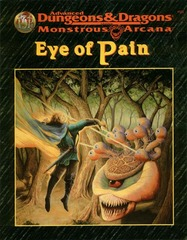 AD&D - Monstrous Arcana - Eye of Pain 9522