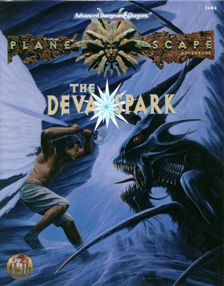 Planescape - The Deva Spark - AD&D 2E