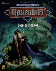 Ravenloft RA2 - Ship of Horror 9321