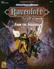 Ravenloft RQ3 - From the Shadows 9375