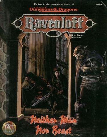 Ravenloft - Neither Man Nor Beast 9499