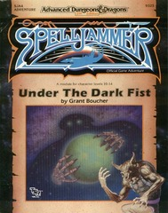 AD&D(2e) Spelljammer - Under the Dark Fist 9325