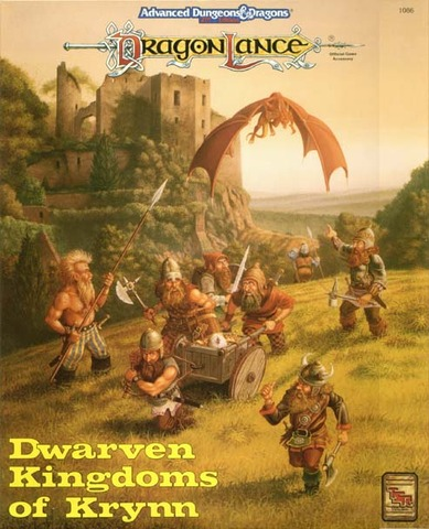 AD&D - Dwarven Kingdoms of Krynn 1086 Box Set