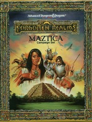 AD&D(2e) - Maztica Campaign Set 1066 Box Set