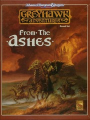 AD&D 2E Greyhawk Adventures: From the Ashes 1064 Box Set
