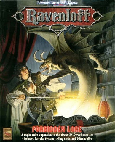 Ravenloft - Forbidden Lore 1079 Box Set
