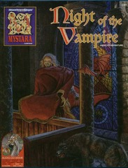AD&D Mystara Night of the Vampire Box Set w/ CD