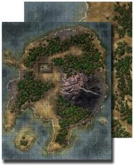 GameMastery Flip-Mat: Pirate Island
