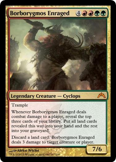 Borborygmos Enraged - Foil