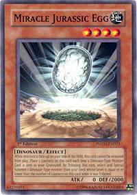 Miracle Jurassic Egg - POTD-EN021 - Common - 1st Edition