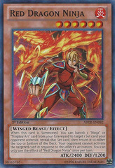 Red Dragon Ninja - ABYR-EN082 - Super Rare - Unlimited Edition