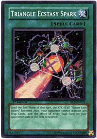 Triangle Ecstasy Spark - RDS-EN039 - Super Rare - 1st Edition