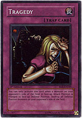 Tragedy - RDS-EN049 - Super Rare - 1st Edition on Channel Fireball