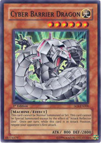 Cyber Barrier Dragon - SOI-EN006 - Super Rare - 1st Edition