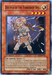 Disciple of the Forbidden Spell - SOI-EN016 - Common - 1st Edition
