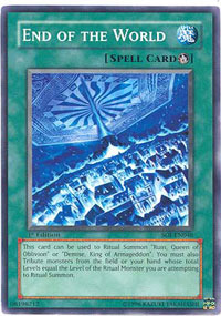End of the World - SOI-EN046 - Common - 1st Edition