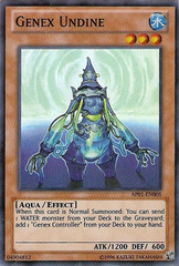 Genex Undine - AP01-EN005 - Super Rare - Unlimited Edition