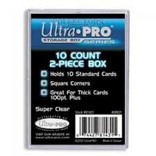 Ultra Pro 10 Count 2-Piece Storage Box