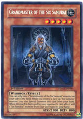 Grandmaster of the Six Samurai - STON-EN000 - Secret Rare - 1st Edition