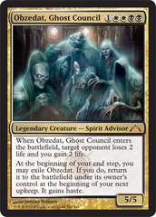 Obzedat, Ghost Council