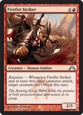 Firefist Striker - Foil