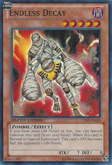 Endless Decay - CT09-EN020 - Super Rare - Limited Edition on Channel Fireball