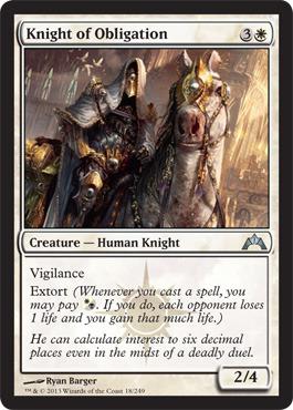 Knight of Obligation - Foil