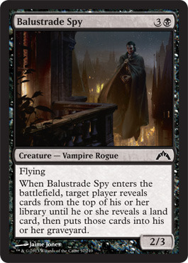 Balustrade Spy - Foil