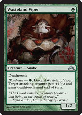 Wasteland Viper - Foil